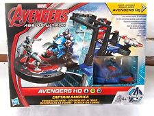New Marvel Avengers Age Of Utron Captain America HQ Tower Play Set
