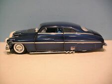 1:25 CARQUEST Blue 1949 Mercury Lead Sled Street Rod Diecast Bank By First Gear