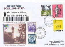 Reco-Brief aus 4501 Neuhofen an der Krems mit 0,07  Ergänzungsmarke  (C13)