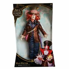 "Alice Through the looking glass 11.5"" deluxe Mad Hatter collectionneur poupée"