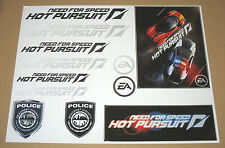 Need for Speed NFS Hot Pursuit Promo Sticker Set  26x21 cm