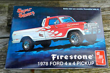 AMT 1978 FORD 4X4 F-150 PICKUP TRUCK SUPER STONES 1:25TH SCALE PLASTIC MODEL KIT