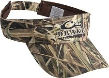 Drake Waterfowl Systems Logo Camouflage Visor DW168 Mossy Oak Blades