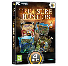 Treasure Hunters Hidden Object PC Game Collection DVD ROM - New