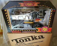Vintage 1990 Mighty Tonka Dump Truck SILVER EDITION 25th Anniversary New In Box