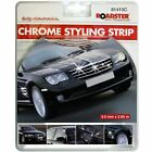Chrome Detail Styling Self Adhesive Strip Car Edging Moulding Trim 3.5mm x 3.65m