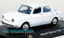 1:43 ABARTH SIMCA 1150 - 1963 _ Abarth Collection Hachette (49)