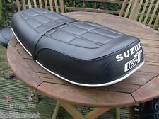Motorcycle seat cover complete with strap Suzuki GT750. EARLY
