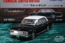 [TOMICA LIMITED VINTAGE LV-160a 1/64] NISSAN PRESIDENT HIRE TYPE (Black/White)