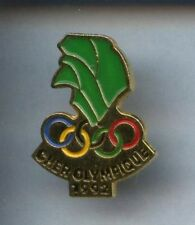 RARE PINS PIN'S .. OLYMPIQUE OLYMPIC ALBERTVILLE 92 / CHER  #9A