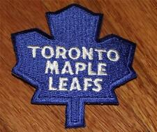 "NEW Toronto Maple Leafs Logo Polo Size Embroidered Iron-On Patch 3"" x 2.75"" *P8"