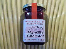 confiture de Myrtille et Chocolat  extra fabrication artisanale 345g