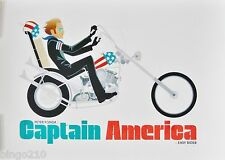 CAPTAIN AMERICA EASY RIDER PETER FONDA NEAL McCULLOUGH #5/50 NOT MONDO PRINT