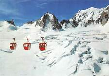 France Chamonix Mont Blanc Telecabine glacier Vallee Blanche, cable cars