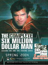 THE COMPLETE SIX MILLION DOLLAR MAN SELL SHEET