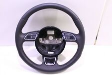 3-SPOKE LEATHER SPORT STEERING WHEEL - AUDI A4 ALLROAD A5 S4 S5 - 8K0419091BM