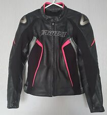 *Dainese Racing D1 Leather Motorcycle Jacket *Race Track *EU 44 UK 12 *VGC