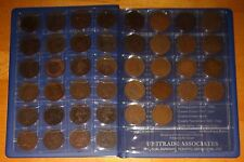 COLLECTION of CANADA LARGE CENTS Coins 1858-1920 - Canadian Big Pennies Set