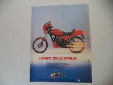advertising Pubblicità 1985 MOTO LAVERDA 125 LB STRADA