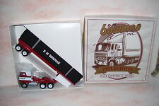 1995 D.M.Bowman Winross Diecast Flat Bed Trailer Truck With Covered Load
