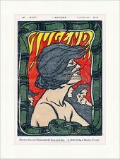 Page de titre du numéro 26 de 1897 Hans Christiansen serpent vent jeunesse 3077