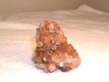 Aragonite crystal cluster all natural bigger red caramel colors 2.5x2 inch c29