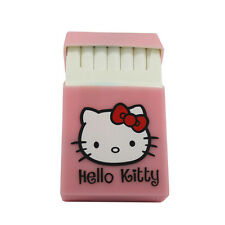 Hello Kitty Pink Silicone Rubber Cigarette Case Dispenser Holder for 20 Pack