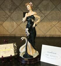 GIUSEPPE ArmaniI ENCHANTED LAKE  #1372C Retired in 2004 Capodimonte FLAWLESS