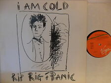 Rip Rig And Panic - I Am Cold - LP 1982 D - Virgin 204 766