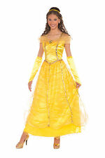 Adult Belle Beauty & The Beast Costume Disney Princess Size Standard