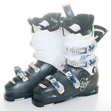 Lange Exclusive RX 100 LV Women's Ski Boots White & Black 26-26.5 Mondo/US 9.5