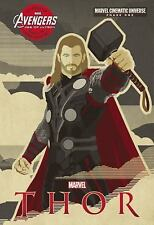 Marvel Cinematic Universe: Phase One: Thor by Alex Irvine (2015, Hardcover)