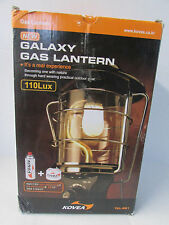 GALAXY GAS LANTERN-FOR OUT DOOR ONLY-110 LUX - kOVEA - TKL - 961- NEW DAMAGE BOX