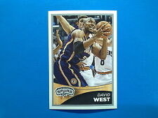 2015-16 Panini NBA Sticker Collection n.267 David West San Antonio Spurs