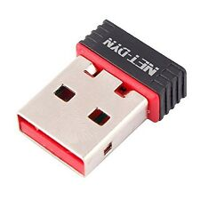 USB WiFi Adapter N - 150Mbps 802.11n Wireless Internet Dongle for PC + Mac + TV