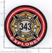 Florida - Pembroke Pines FL Fire Dept Explorer Patch   9-11  343   WTC