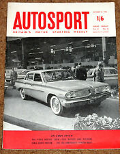 Autosport 14/10/60* MODENA GP - BATHURST INT'L - LONDON RALLY - PARIS SALON