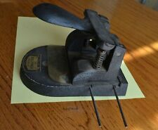 The BULLFINCH PUNCH. Antique British hole puncher, great working condition.