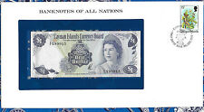 Banknotes of All Nations Cayman Islands 1b Dollar 1971 UNC P1 Birthday 199915