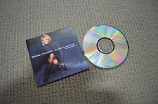 WHITNEY HOUSTON MY LOVE IS YOUR LOVE RARE 4 TRACK CD SINGLE IN CARD SLEEVE!