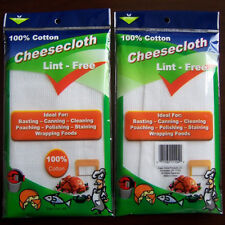 Cheese cloth 3 Yards Fine Quality 100% Cotton Bleached White Cheese Cloth Fabric