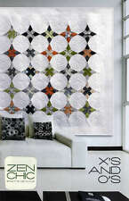X's AND O's QUILTING PATTERN, From Zen Chic Patterns NEW