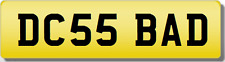 DC DCS  BADBOY  Private Cherished Registration Number Plate