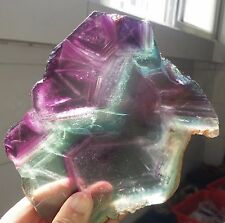 552g Natural Fluorite Crystal Rough stone specimens China A1486