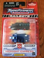 Transformers Universe RAILBOTS MIDNIGHT EXPRESS SERIES 3  4 OF 6 RARE NOC