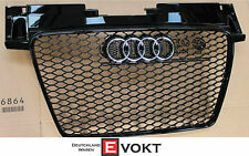 Audi TT TTRS TTS Grill RS 8J 2006 - 2013 Piano Black Grill GENUINE NEW