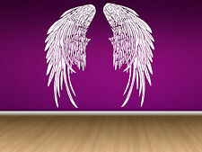 Wall Room Decor Art Vinyl Sticker Mural Angel Wings Heaven Big Large AS197