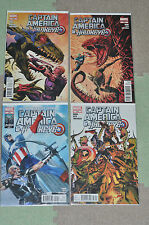 [Marvel Comics] Captain America and…- #629-640 + #635.1 NM Bagged/Boarded