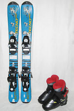 "TECNO "" SKITTY "" SKI JUNIOR ALLROUND CARVER 80 CM + SKISCHUHE GR.: 27 SET"