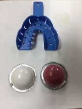 BOTTOM Gold Grillz mold kit gold teeth impression set putty 10+ Teeth